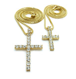 Double Bling Cross Set