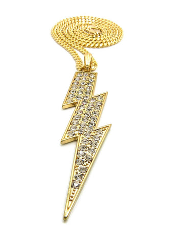 Lightning-Large (Gold)