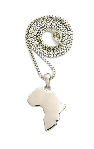 Africa Flat-Small (Silver)