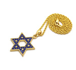 Star of David (Blue Stones)