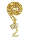 Crown Numbers (Gold)