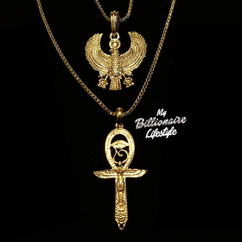 Horus / Eye of Horus Ankh Set