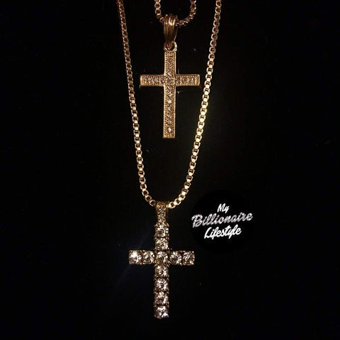 Cross / Bling Cross Set