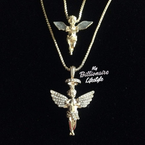 Bling Angel / Angel with Halo Set