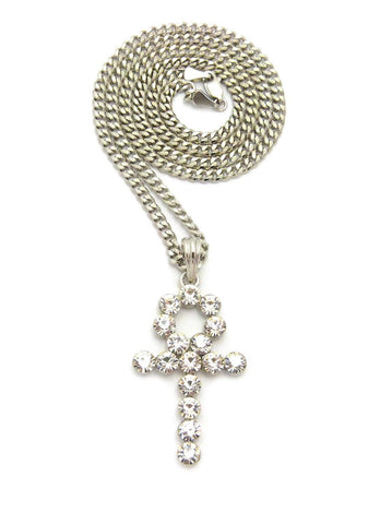 Bling Ankh (Silver)