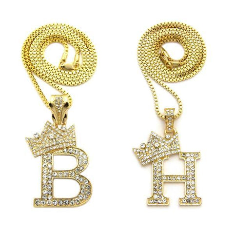 Crown Letter Set V (Gold)
