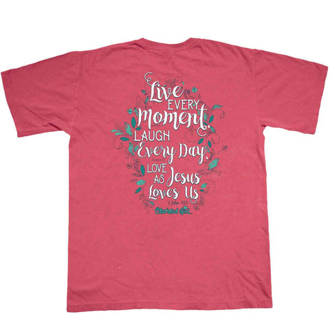 Live Every Day Cherished Girl Comfort Colors Adult T-Shirt ™
