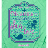 Mightier Than The Waves Christian T-Shirt ™