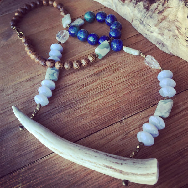 Antler Necklace - Nora