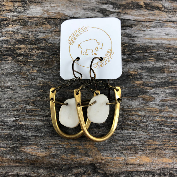 Antler Swing Earrings
