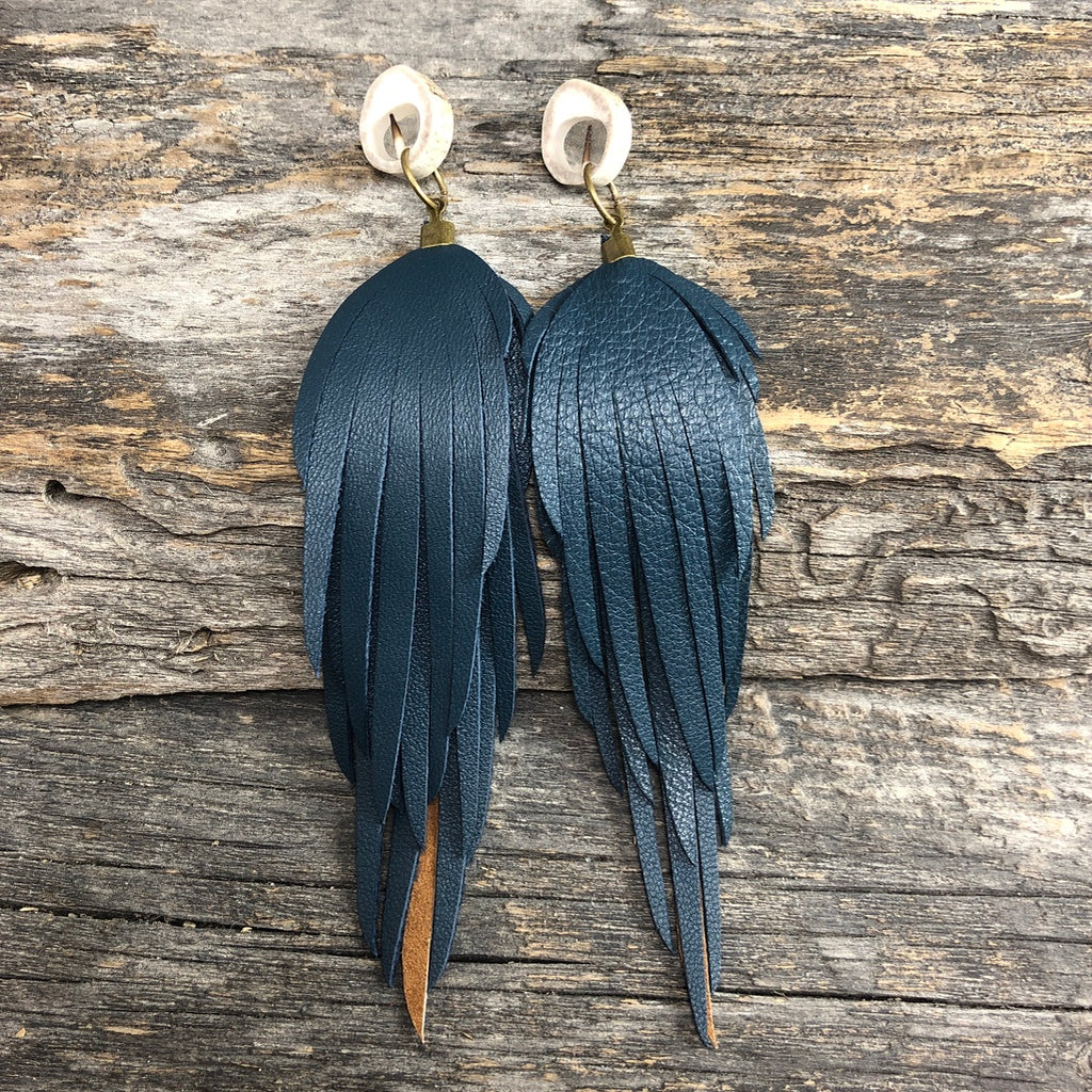 Antler Fringe Window Studs