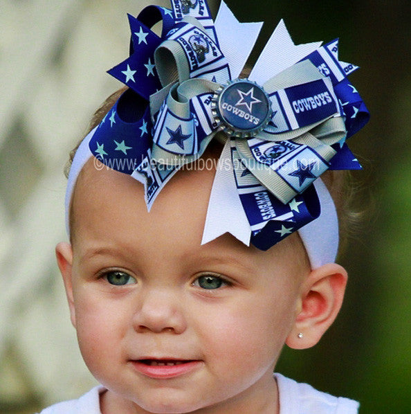b3110cee0 Buy Sports Hair Bows Online at Beautiful Bows Boutique