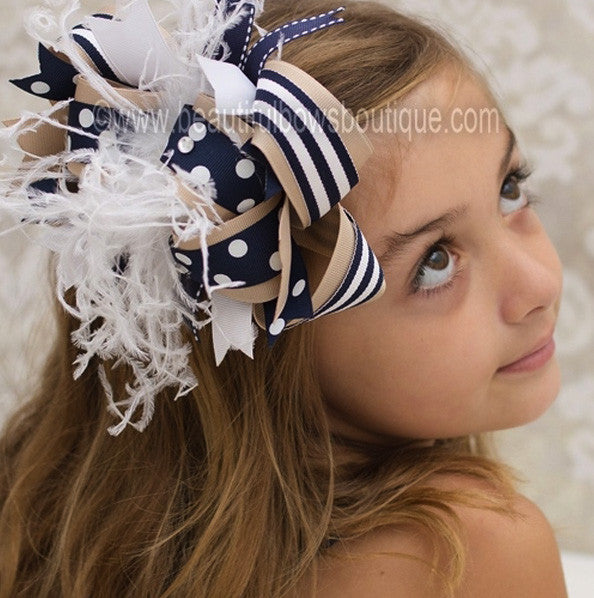 School Uniform Hair Bows