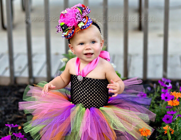 Buy Fall Bright Halloween Big Boutique Hair Bow Headband Online