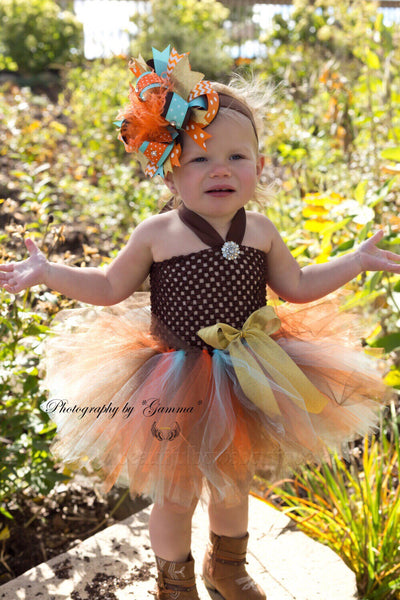Buy Western Fall Crochet Baby Tutu Dress Online
