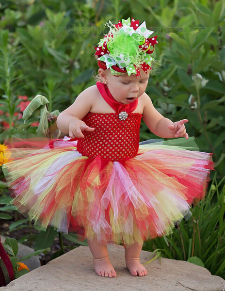 Christmas Grinch Baby Tutu Dress