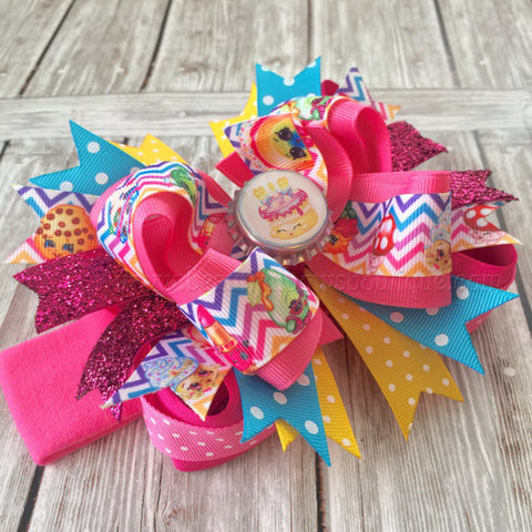 Buy Large Shopkins Boutique Birthday Bow Headband Online