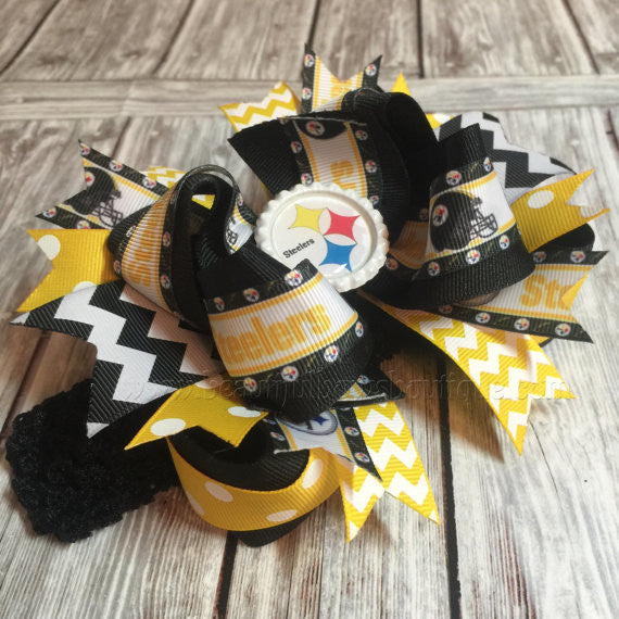 Buy Pittsburgh Steelers Baby Headband Steelers Hair Bow Online