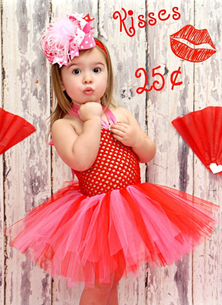 Red and Pink Valentine Bows,Over the Top Bows Valentines Day