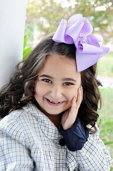 Buy Extra Large Lavender Hair Bow, Lavender Baby Headband Toddler Online