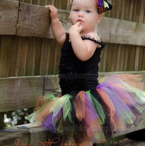 Funky Halloween Infant Girl Toddler Tutu