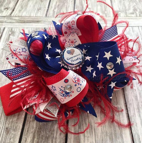 Buy 4th of July Baby Girl Pageant Headband Online