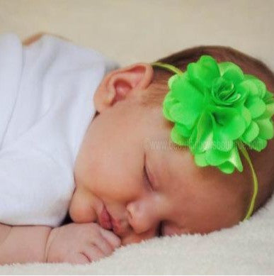 Buy Blooming Neon Green  Flower Bitty Band Online