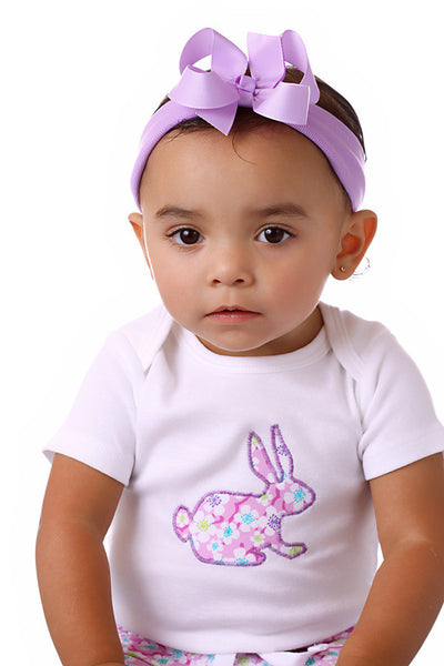 Simple Solid Color Infant Bow Headbands- CHOOSE COLOR