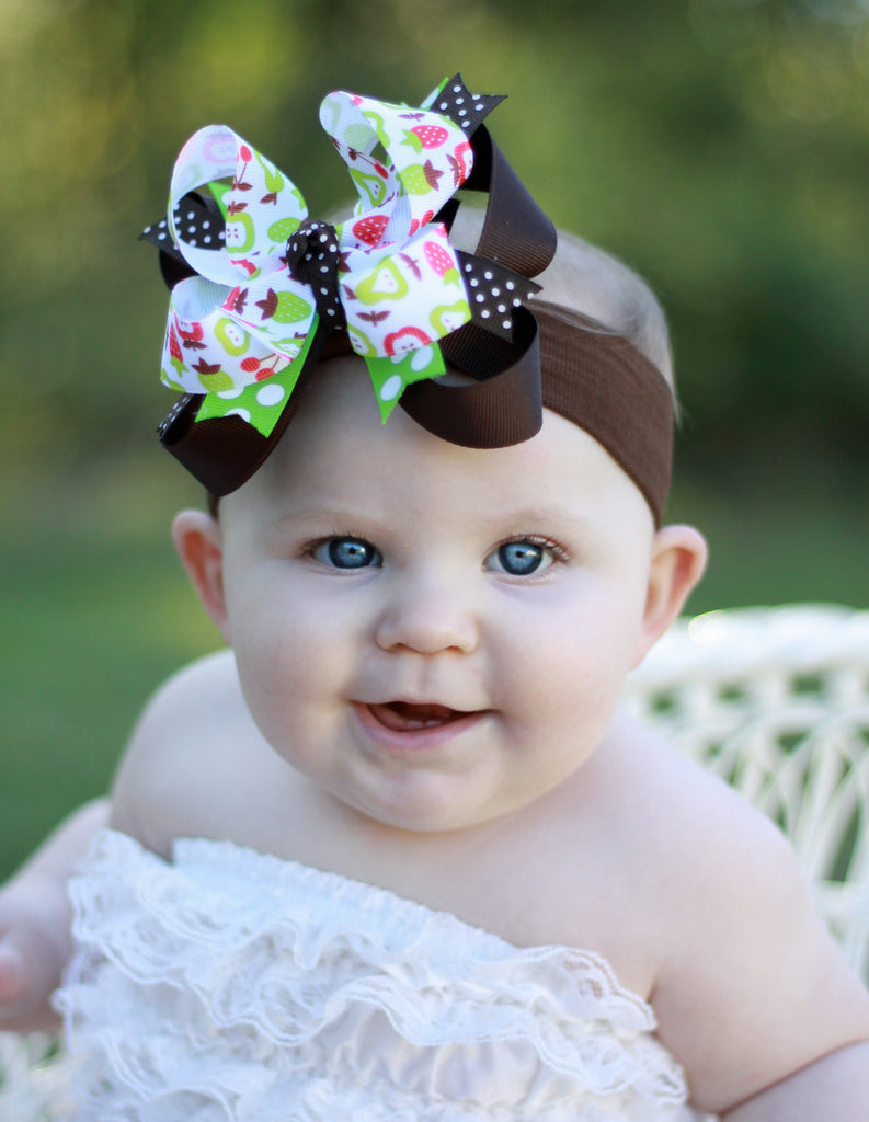 Apple Berry Fall Baby Child Headband