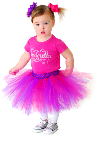 Buy Pink and Purple 1st Birthday Tutu, Toddler Girl Tutu Online