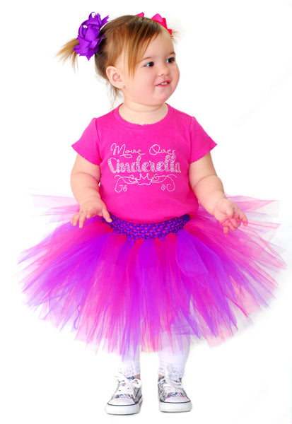 Pink and Purple 1st Birthday Tutu, Toddler Girl Tutu