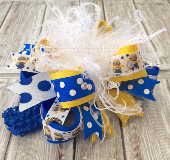Birthday Girl Headband Minion Party