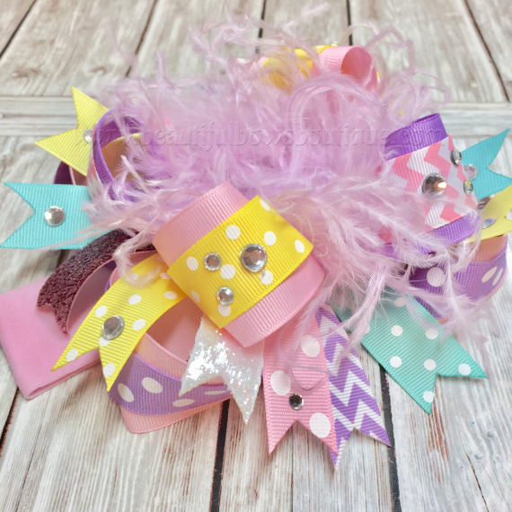 Easter Pageant Baby Headband Pastels