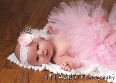 Light Pink Newborn Baby Tutu