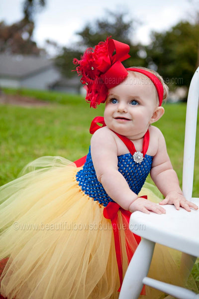 Disney Inspired Princess Tutu Dress Snow White