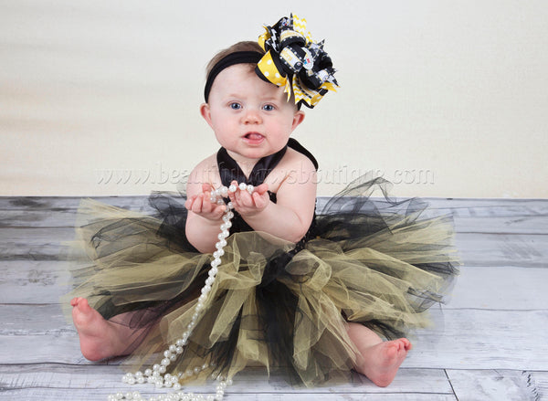Pittsburgh Steelers Baby Tutu Dress Baby Shower Gift