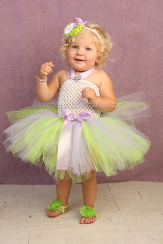 Tinkerbell Baby Girl Costume Purple and Green