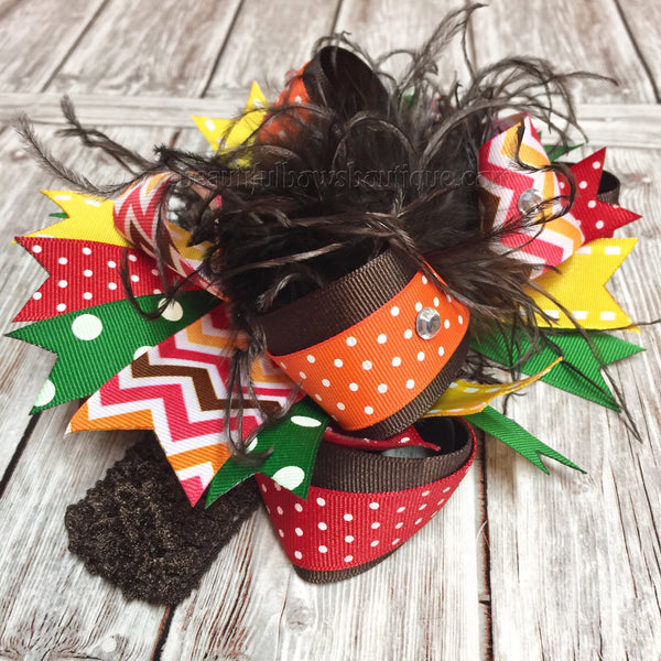Fall Headband,Thanksgiving Headband,Autumn Baby Headband