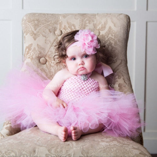 1e49389e9ce20 Buy Light Pink Baby Tutu Dress Photo Prop Infant Toddler Girl Online ...