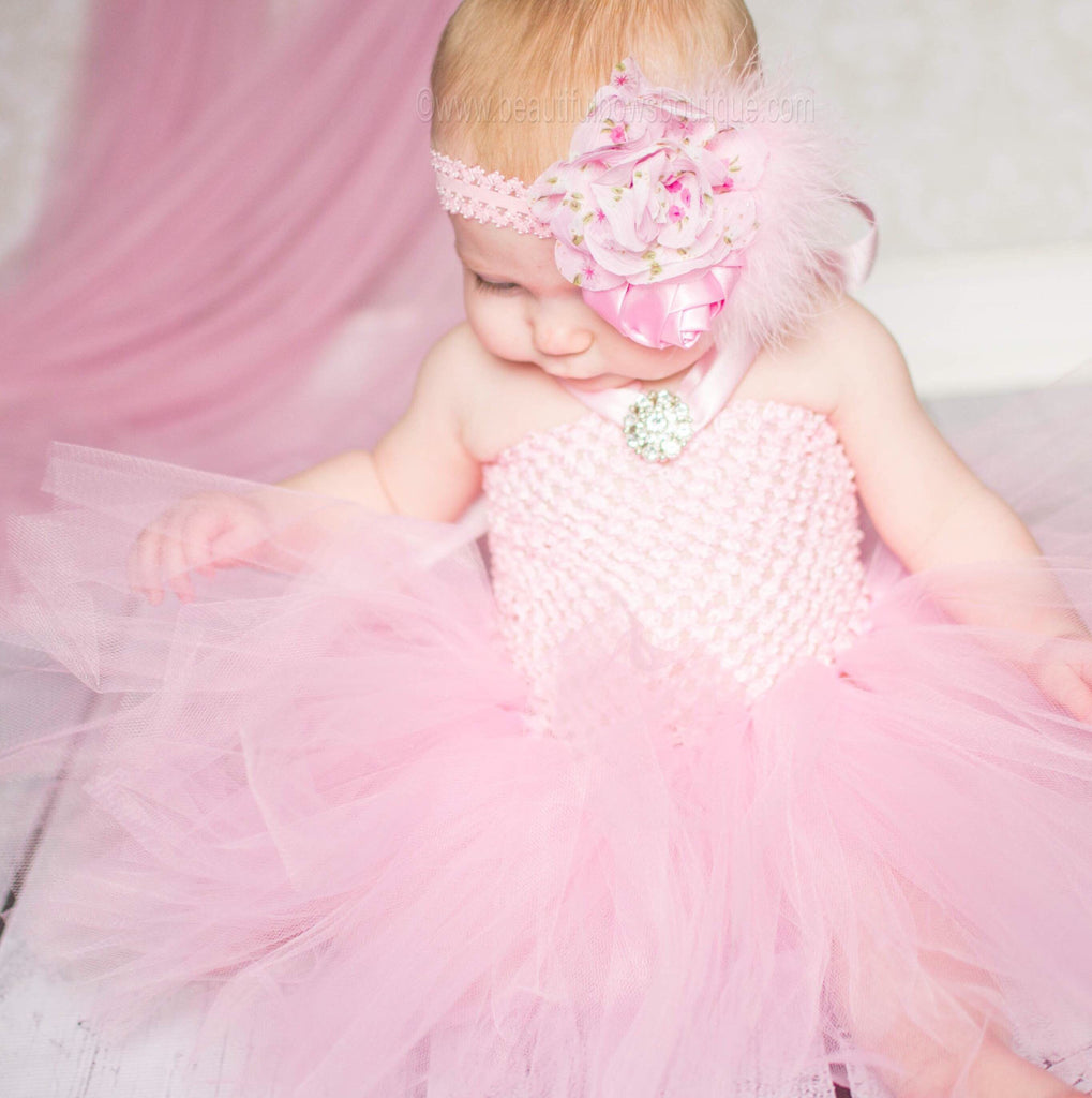 4fa6b8ad9 Buy Pink Baby Tutu Dress, Baby Girl Pink Tutu Dress, Pink Baby Tutu ...