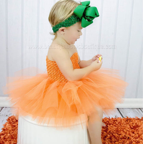 Buy Pumpkin Orange Fall Baby Tutu Dress Online