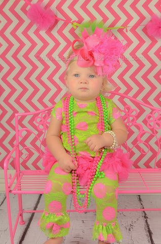 Big Boutique Hot Pink Bow Headband