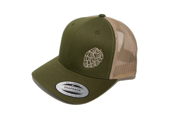 Embroidered Hop Hat