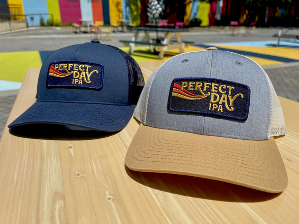 Perfect Day Embroidered Snapback Hat