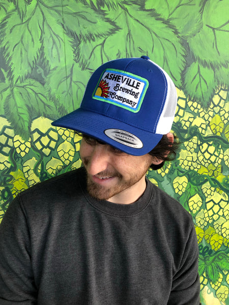 Retro Sun Patch Trucker