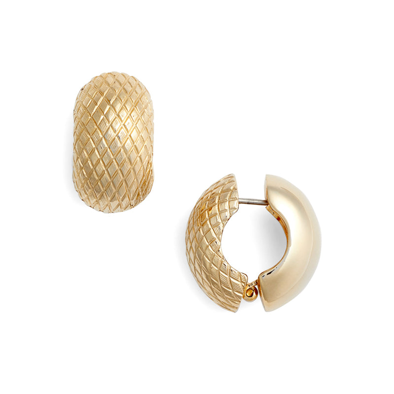 Snakeskin Goldtone Reversible Hugs®