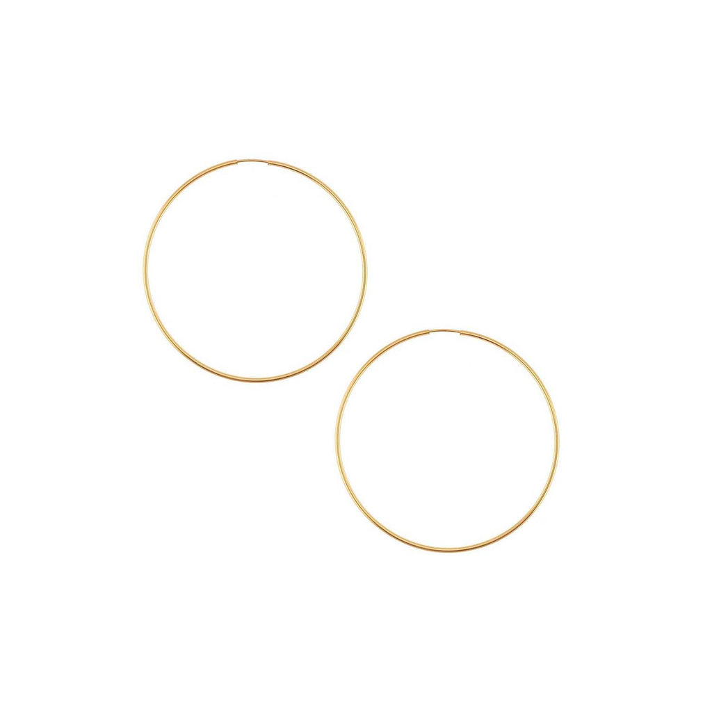 14k Gold Filled Hoops 13/16 inch Diameter