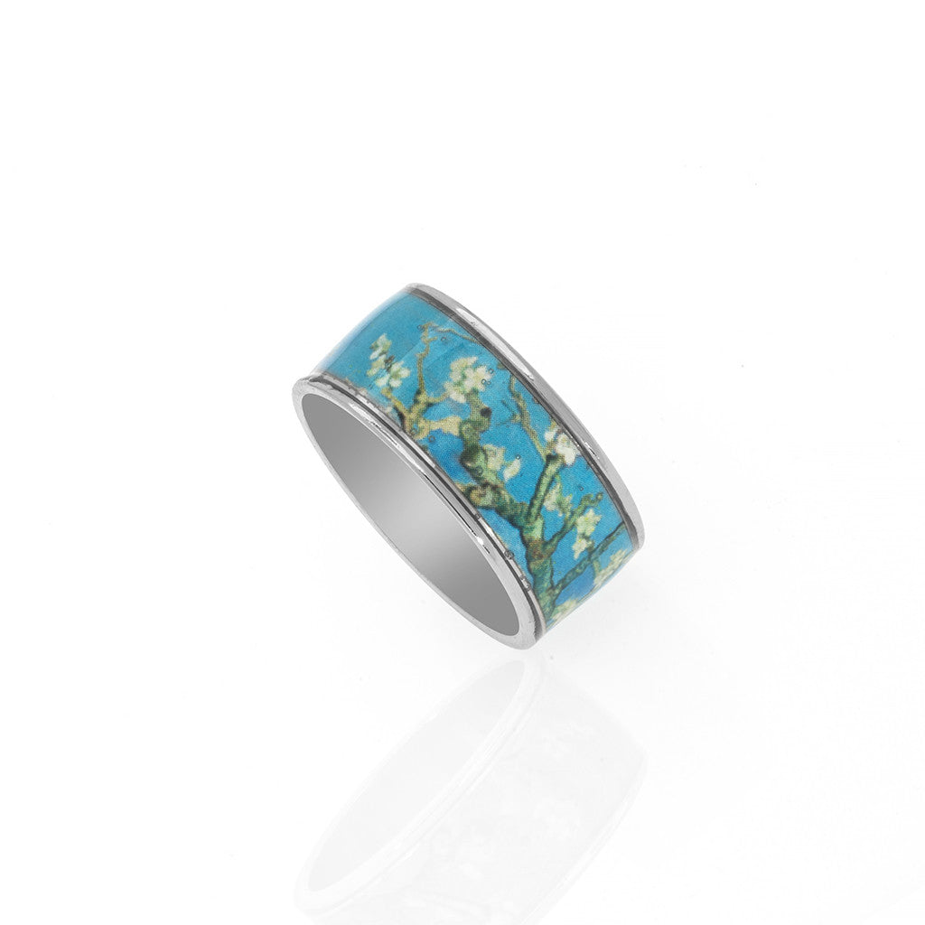Van Gogh Almond Blossoms Ring