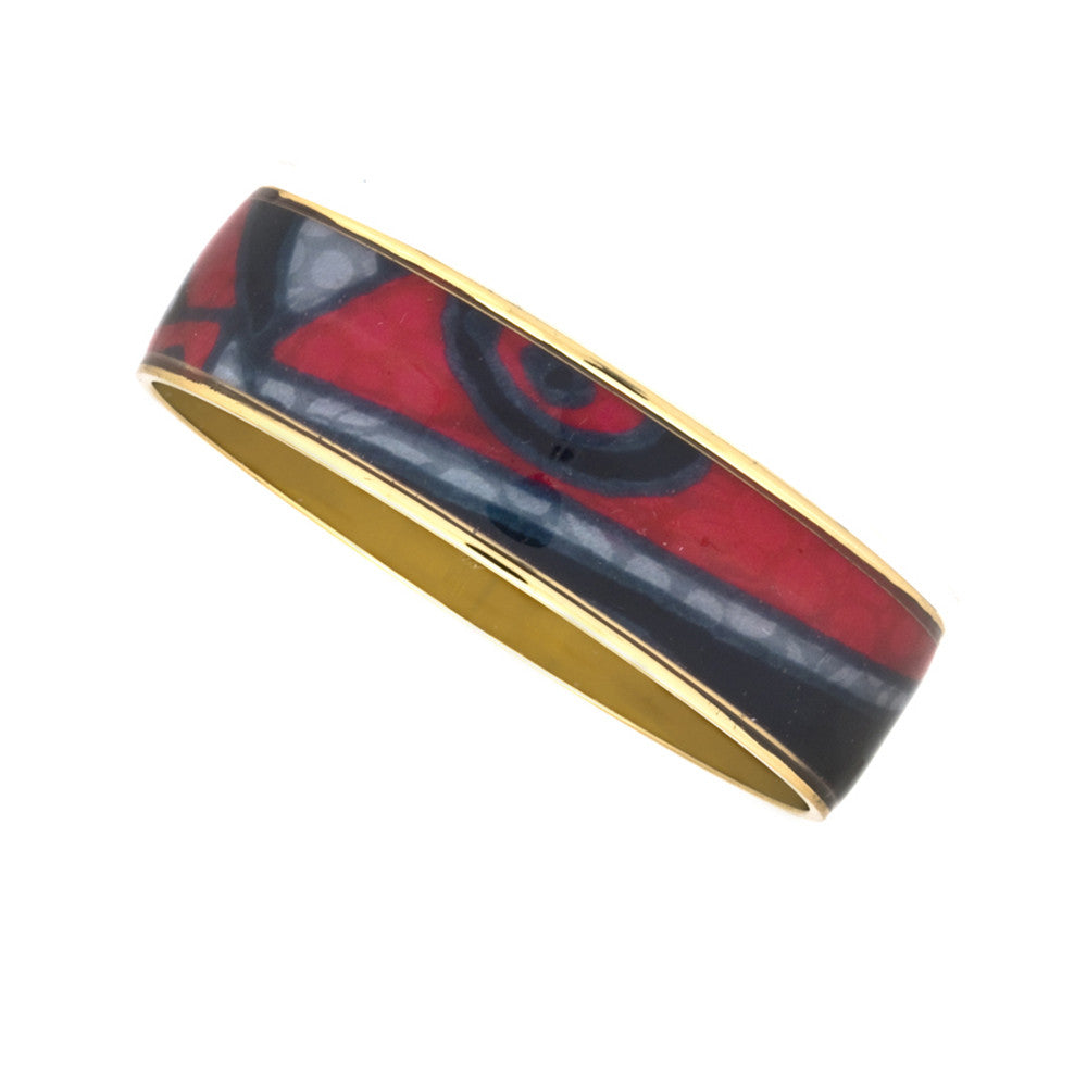 MAYA Abstract Expressionism Bangle Bracelets 3/4""