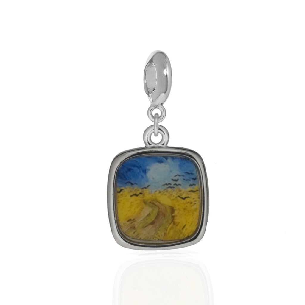 Van Gogh Wheatfield with Crows Charm